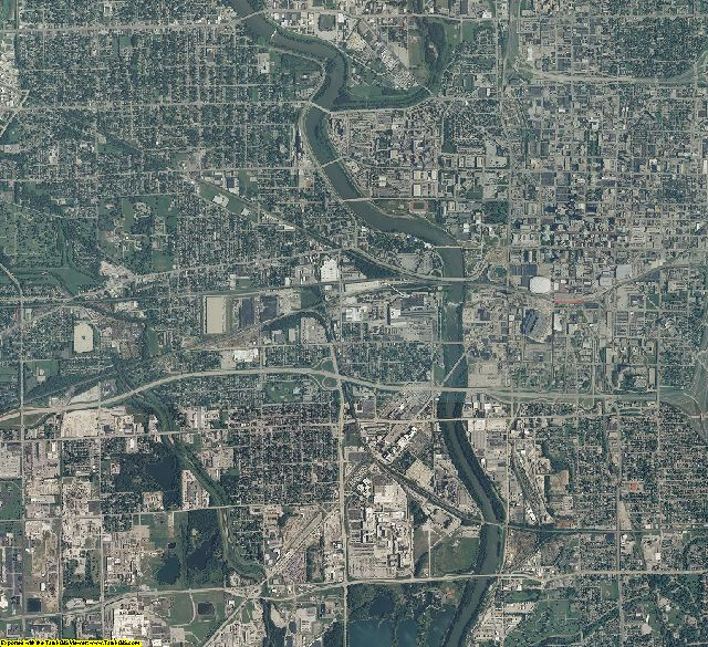 Marion County, Indiana aerial photography