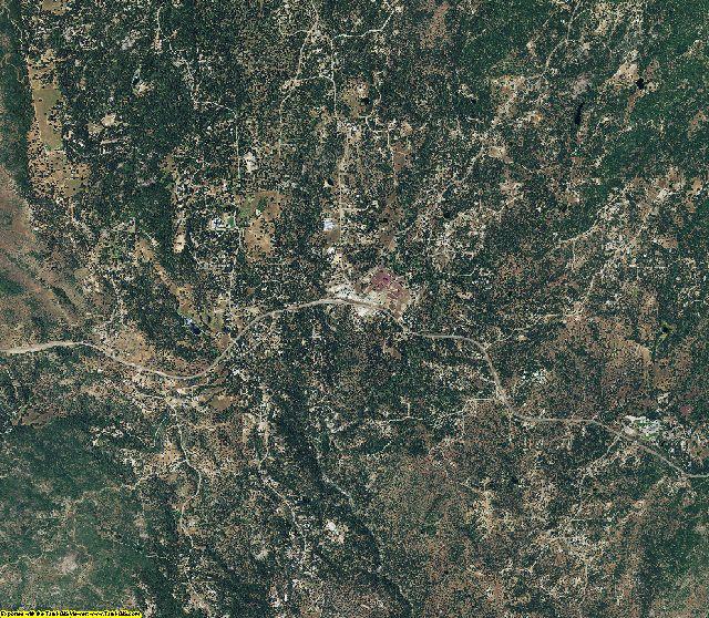 Mariposa County, California aerial photography
