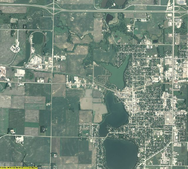 Martin County, Minnesota aerial photography