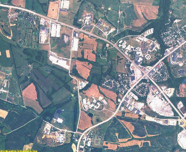 Mason County, Kentucky aerial photography