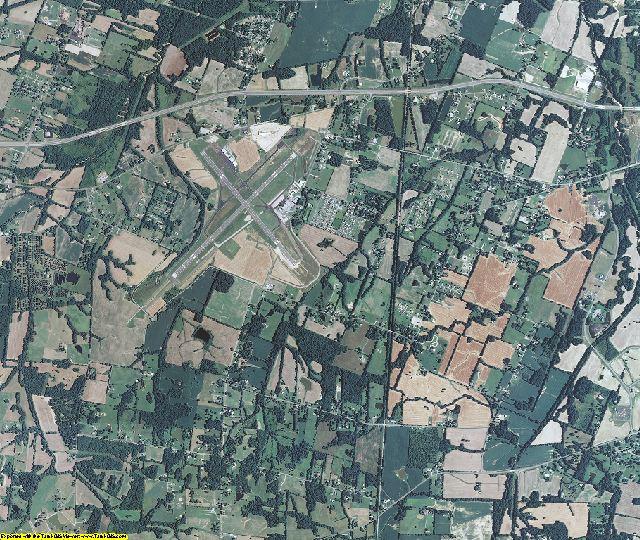 McCracken County, Kentucky aerial photography
