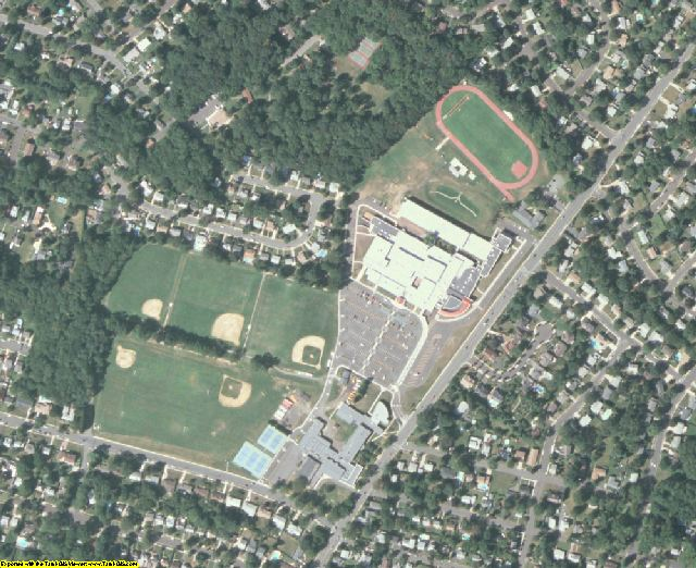 Mercer County, NJ aerial photography detail