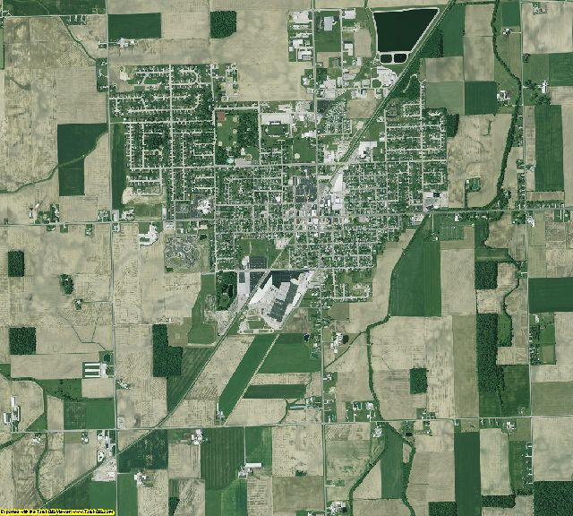 Mercer County, Ohio aerial photography
