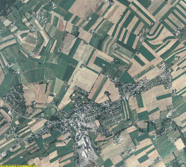 Mifflin County, Pennsylvania aerial photography