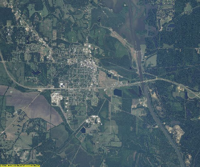Monroe County, Mississippi aerial photography