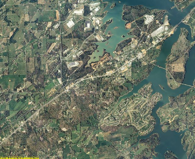 Monroe County, Tennessee aerial photography
