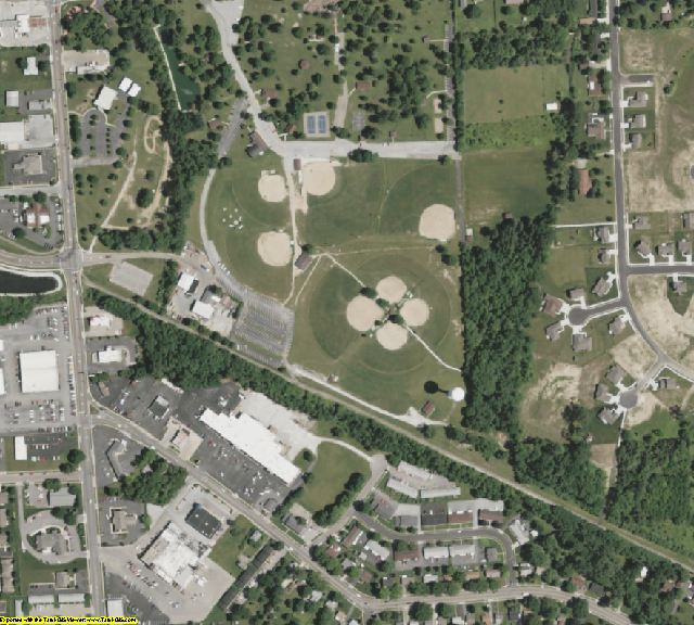 Montgomery County, OH aerial photography detail