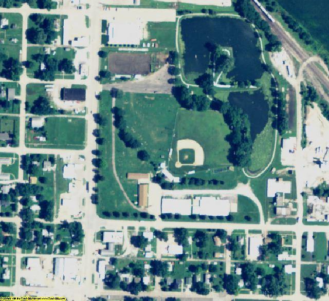 Nemaha County, NE aerial photography detail