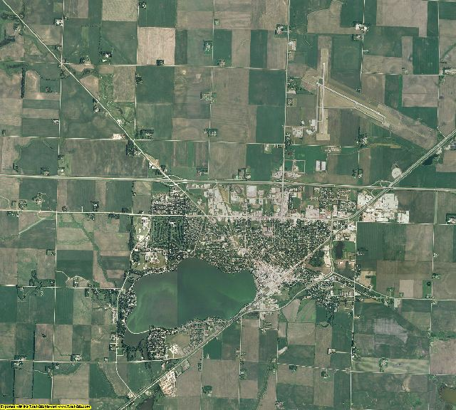 Nobles County, Minnesota aerial photography