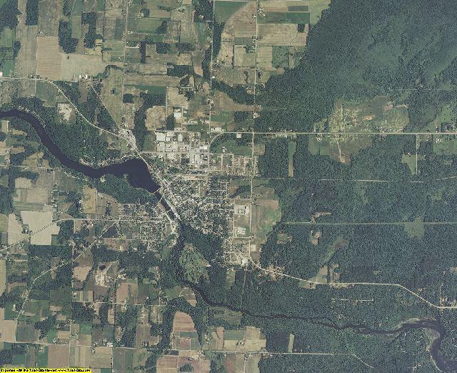 Oconto County, Wisconsin aerial photography
