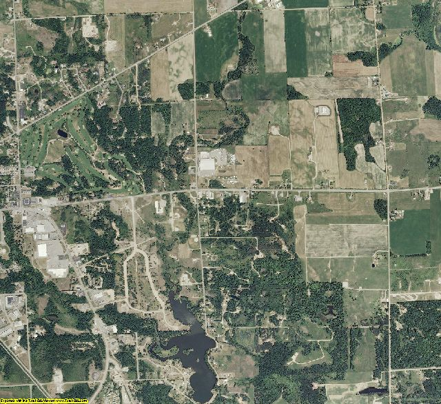 Ogemaw County, Michigan aerial photography