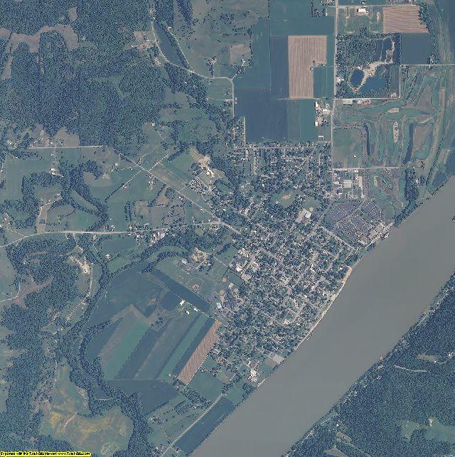 Ohio County, Indiana aerial photography