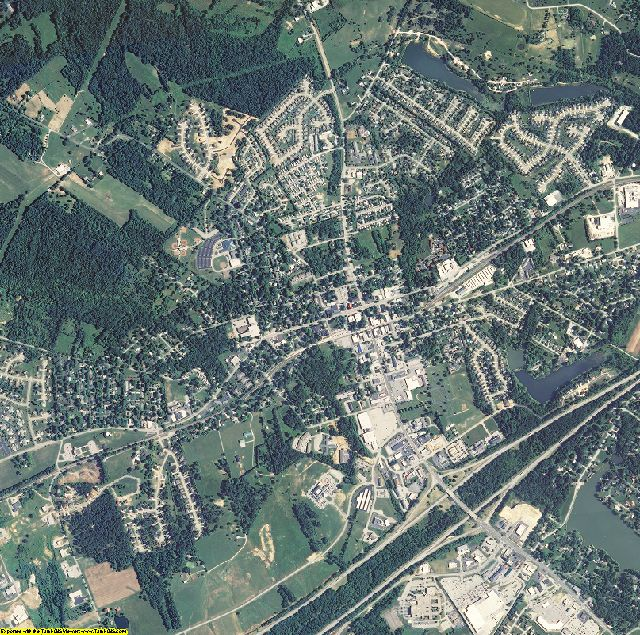Oldham County, Kentucky aerial photography