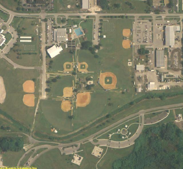 Osceola County, FL aerial photography detail