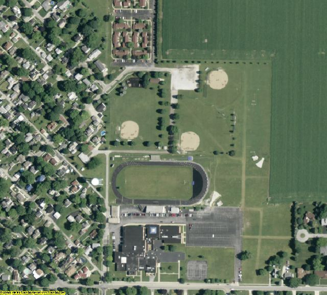 Ottawa County, OH aerial photography detail