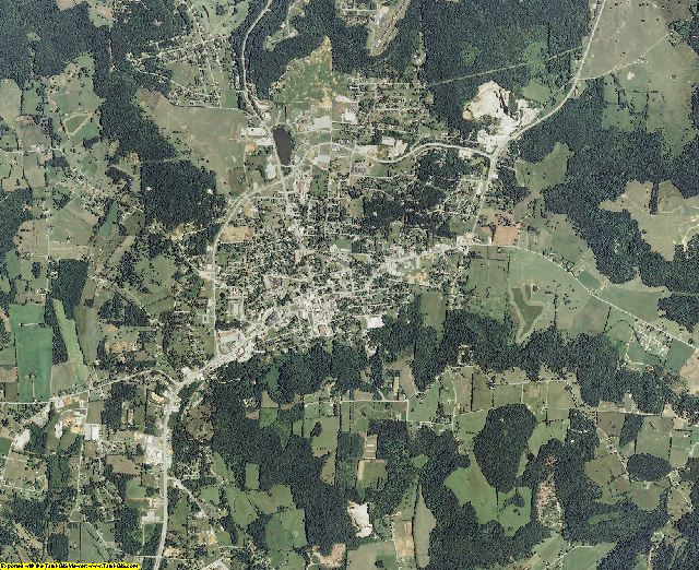 Overton County, Tennessee aerial photography