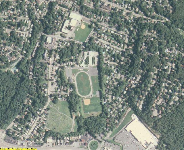 Passaic County, NJ aerial photography detail