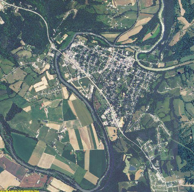 Pendleton County, Kentucky aerial photography