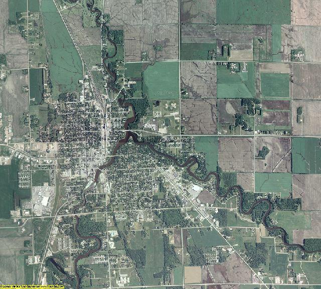Pennington County, Minnesota aerial photography