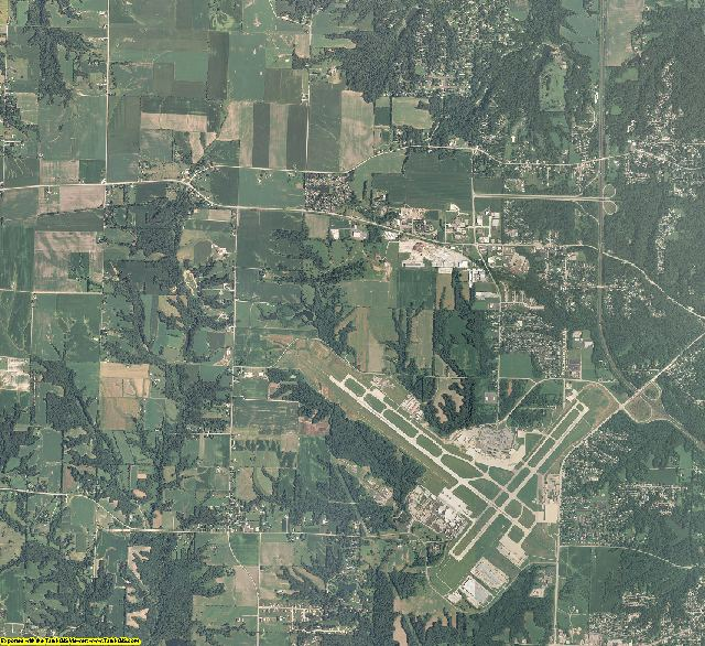 Peoria County, Illinois aerial photography