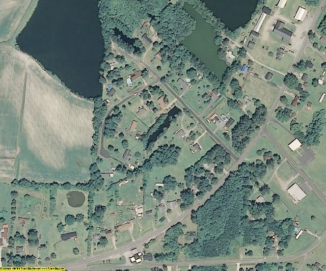 Perquimans County, NC aerial photography detail