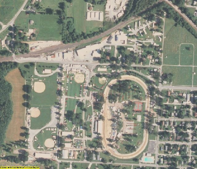 Perry County, IL aerial photography detail