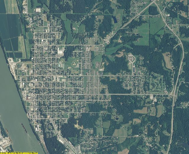 Perry County, Indiana aerial photography
