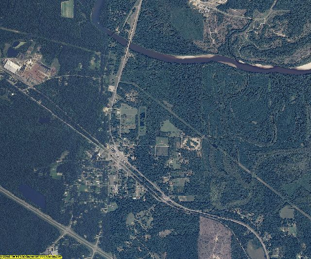Perry County, Mississippi aerial photography