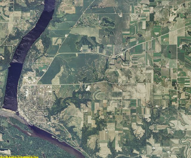 Pierce County, Wisconsin aerial photography