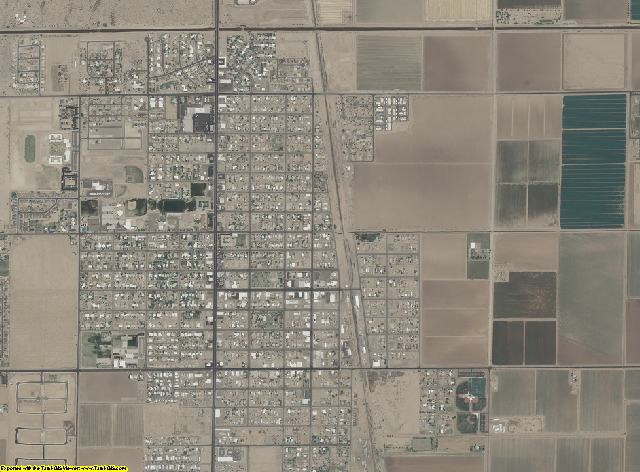 Pinal County, Arizona aerial photography
