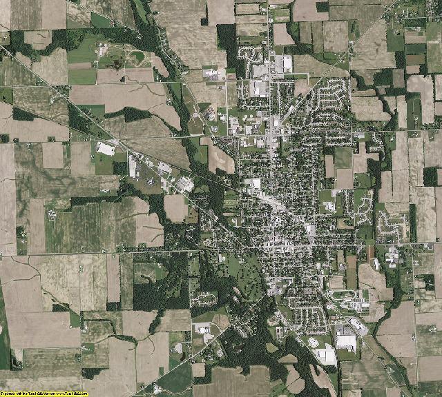 Preble County, Ohio aerial photography