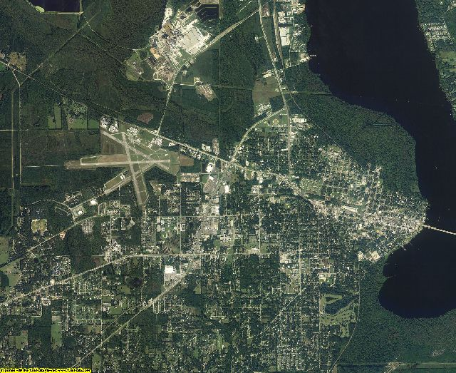 Putnam County, Florida aerial photography