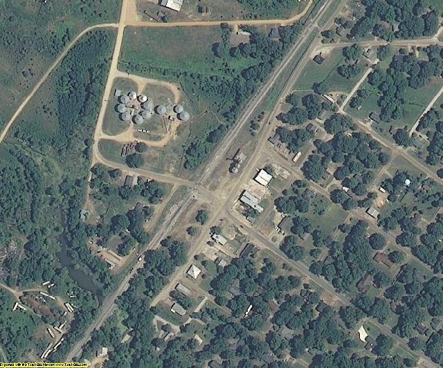 Quitman County, MS aerial photography detail