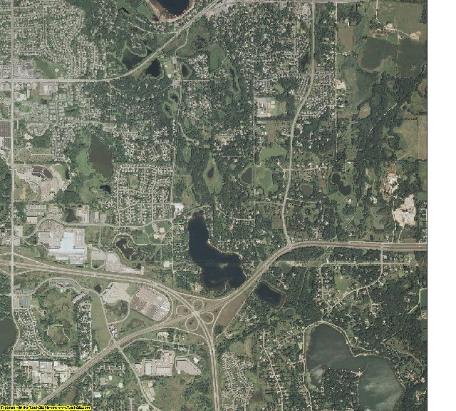 Ramsey County, Minnesota aerial photography