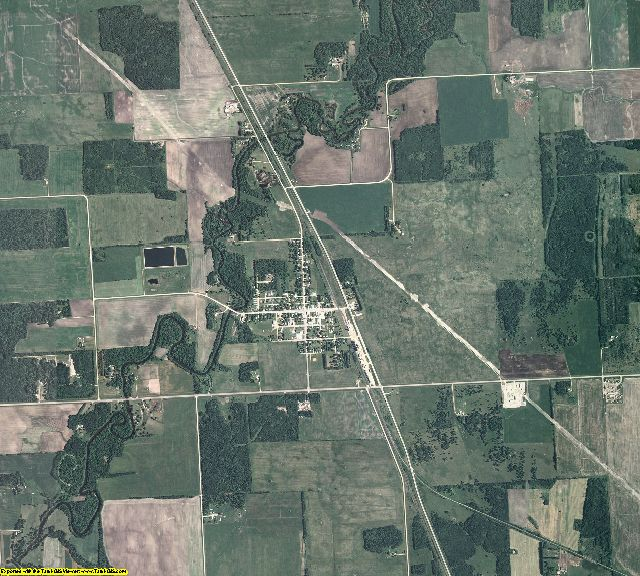 Red Lake County, Minnesota aerial photography