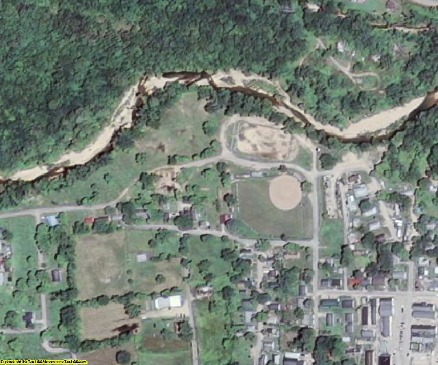 Reynolds County, MO aerial photography detail