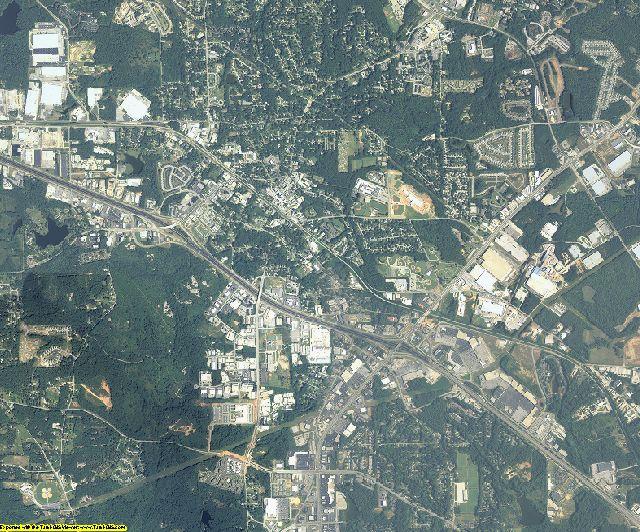 Rockdale County, Georgia aerial photography