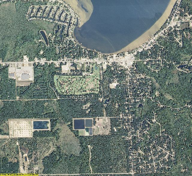 Roscommon County, Michigan aerial photography