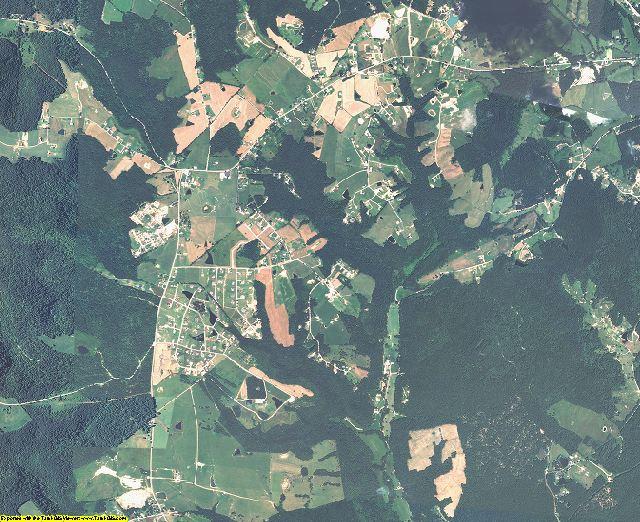 Rowan County, Kentucky aerial photography