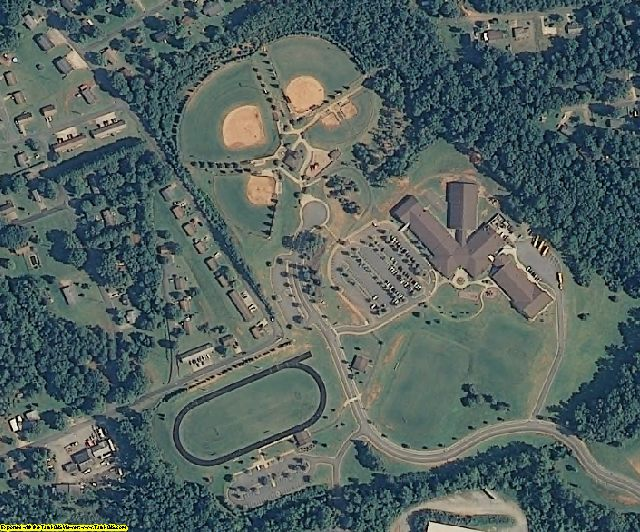 Rutherford County, NC aerial photography detail