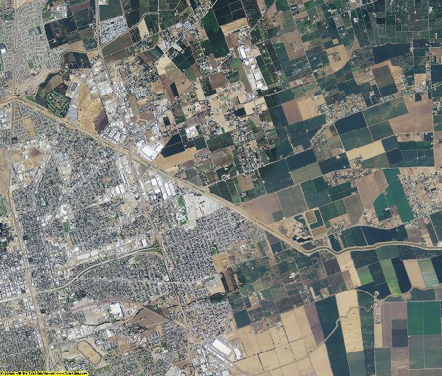 San Joaquin County, California aerial photography