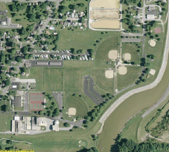 Sandusky County, OH aerial photography detail