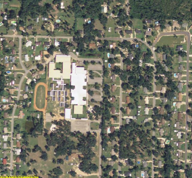 Santa Rosa County, FL aerial photography detail