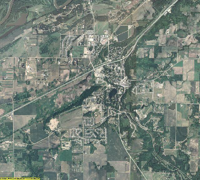 Scott County, Minnesota aerial photography