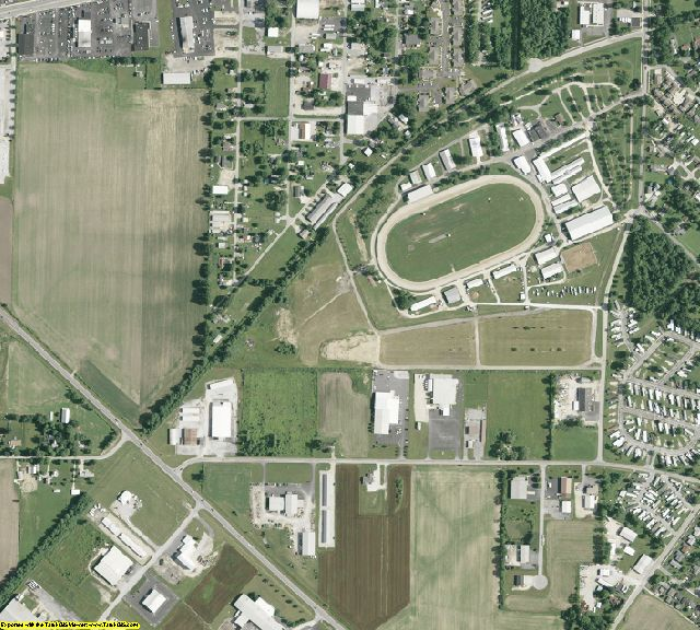 Seneca County, OH aerial photography detail
