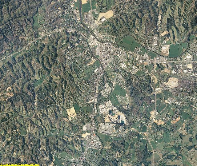 Sevier County, Tennessee aerial photography
