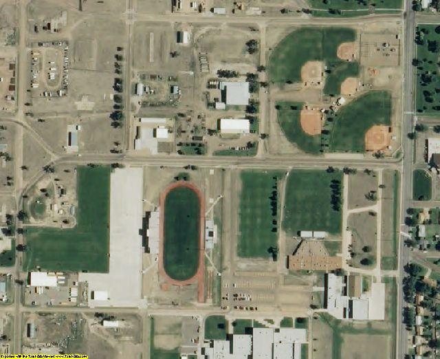 Seward County, KS aerial photography detail