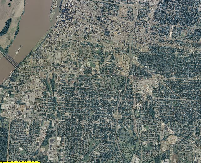Shelby County, Tennessee aerial photography