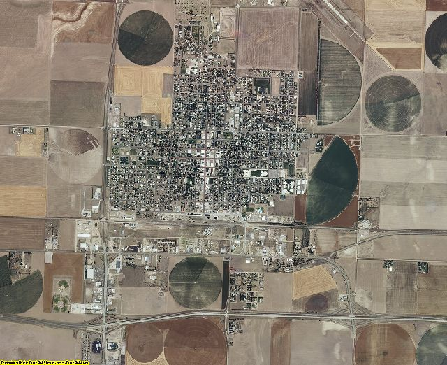 Sherman County, Kansas aerial photography