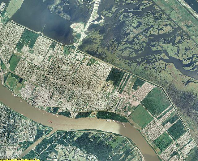 St. Bernard County, Louisiana aerial photography